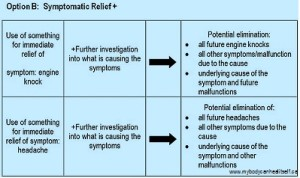 Symptom Relief Option B