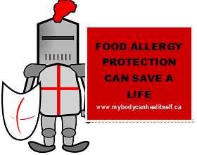Food allergy protection can save a life