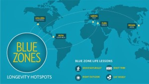 Blue Zones Map