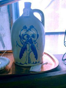 birds jug